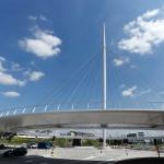 Hovenring - circular cycle bridge - pylon - fietsrotonde - eindhoven