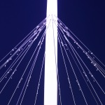 lighting - hovenring - circular cycle bridge - dampers - fietsrotonde